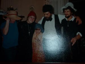 un Noël avec Jaquies,M.Noëlle et un couple d'amis