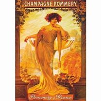 affiche Pommery