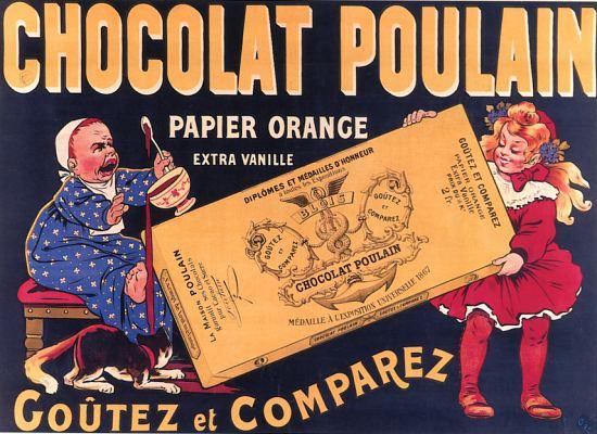 affiche Poulain 2