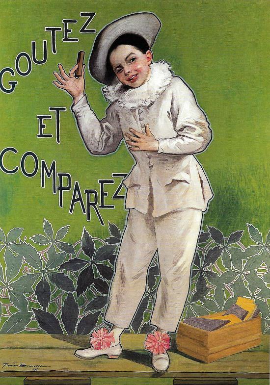 Affiche Poulain Pierrot
