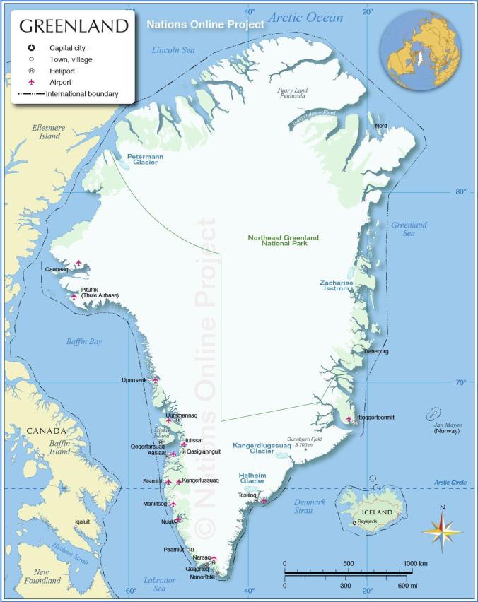 groenland-carte
