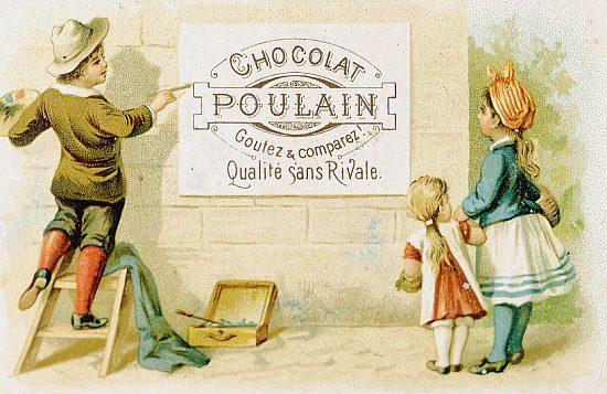 Poulain affiche