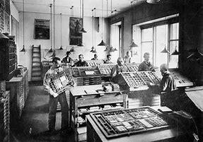 imprimerie 1900