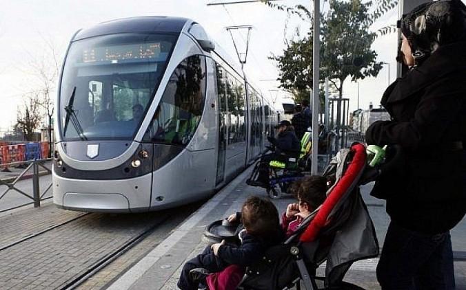 tramway jérusalem