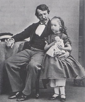 Livingstone et fille AnneMary 1864