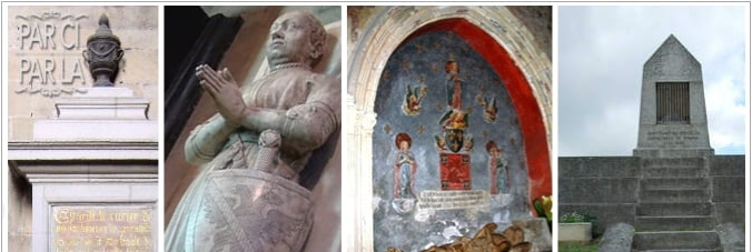 Duguesclin 4 tombeaux